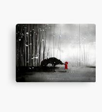Little Red Riding Hood ~ The Fisrt Touch  Canvas Print