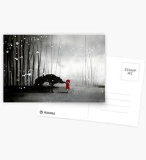 Little Red Riding Hood ~ The Fisrt Touch  Postcards
