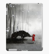 Little Red Riding Hood ~ The Fisrt Touch  iPad Case/Skin