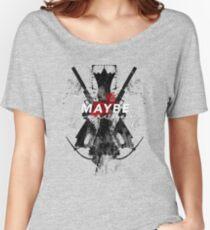 Camiseta ancha para mujer ¿Tal vez algún día?