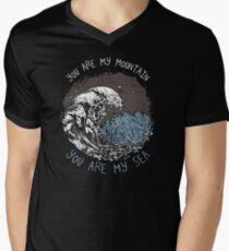 Mountain Sea Men's V-Neck T-Shirt