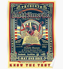 Blakk Amerika - From Prophets to Pimps Poster Poster
