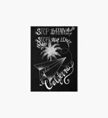 Tokio Hotel - Stop Babe [dark] Art Board