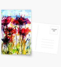 Poppy Love Postcards