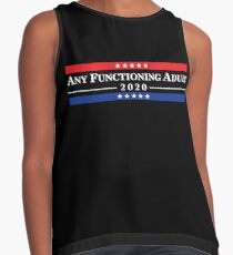 Any Functioning Adult 2020 Contrast Tank