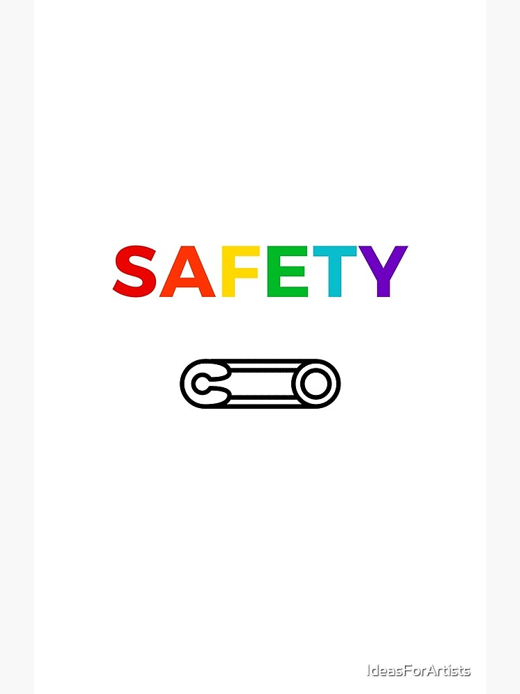 Safety by IdeasForArtists
