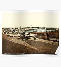 Vintage photo of Bridlington Quay Poster