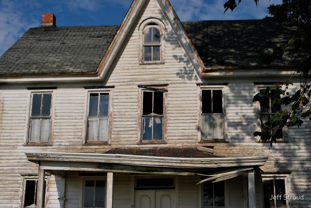 Old Farm House by Jeff stroud