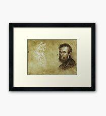 """Michelangelo"" Framed Print"