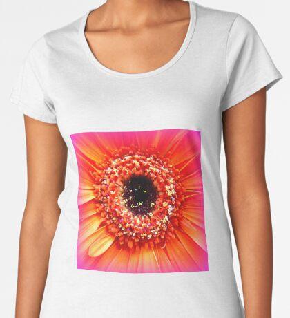 Gerbera in orange and pink Women's Premium T-Shirt
