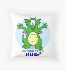 Hug Time! Throw Pillow