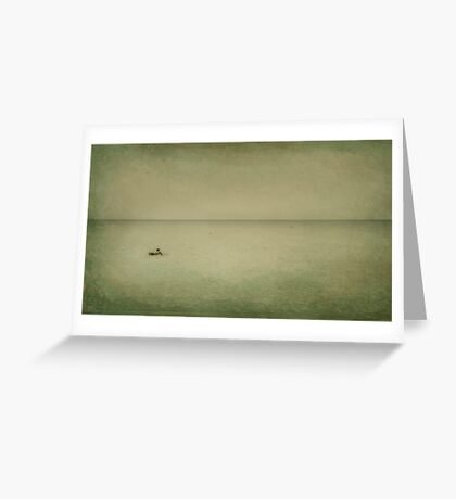 The Recesses of the Deep Greeting Card