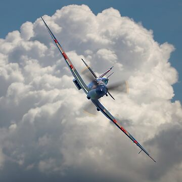 Spitfire in the Clouds by Arrowman