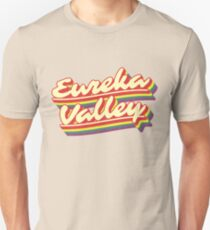 Eureka Valley | Retro Rainbow Unisex T-Shirt