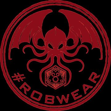 #RobWear Red Stamp by RobertVaughan