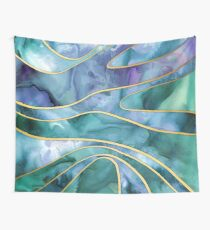 The Magnetic Tide Wall Tapestry