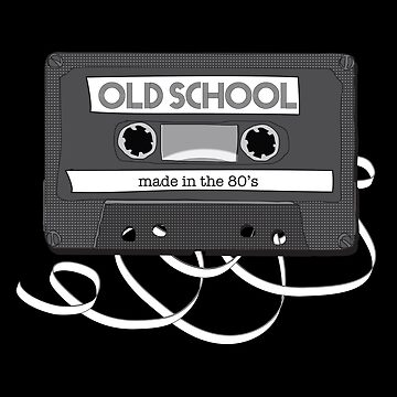 Old School - Made in the 80's - Record Tape by monawerks