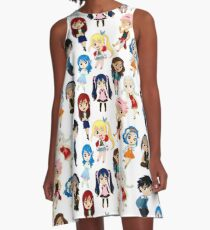 Chibi Fairy Tail A-Line Dress