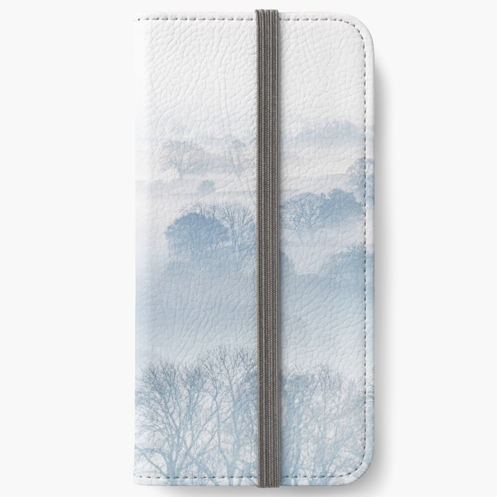 Ethereal Morning Mist iPhone Wallet