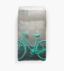 Green Cycle Duvet Cover