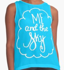 Me and the Sky Blue w/ Cloud Contrast Tank