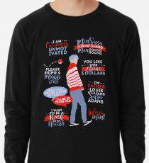 BTS Suga Quotes Lightweight Sweatshirt