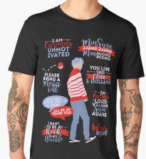 BTS Suga Quotes Men's Premium T-Shirt