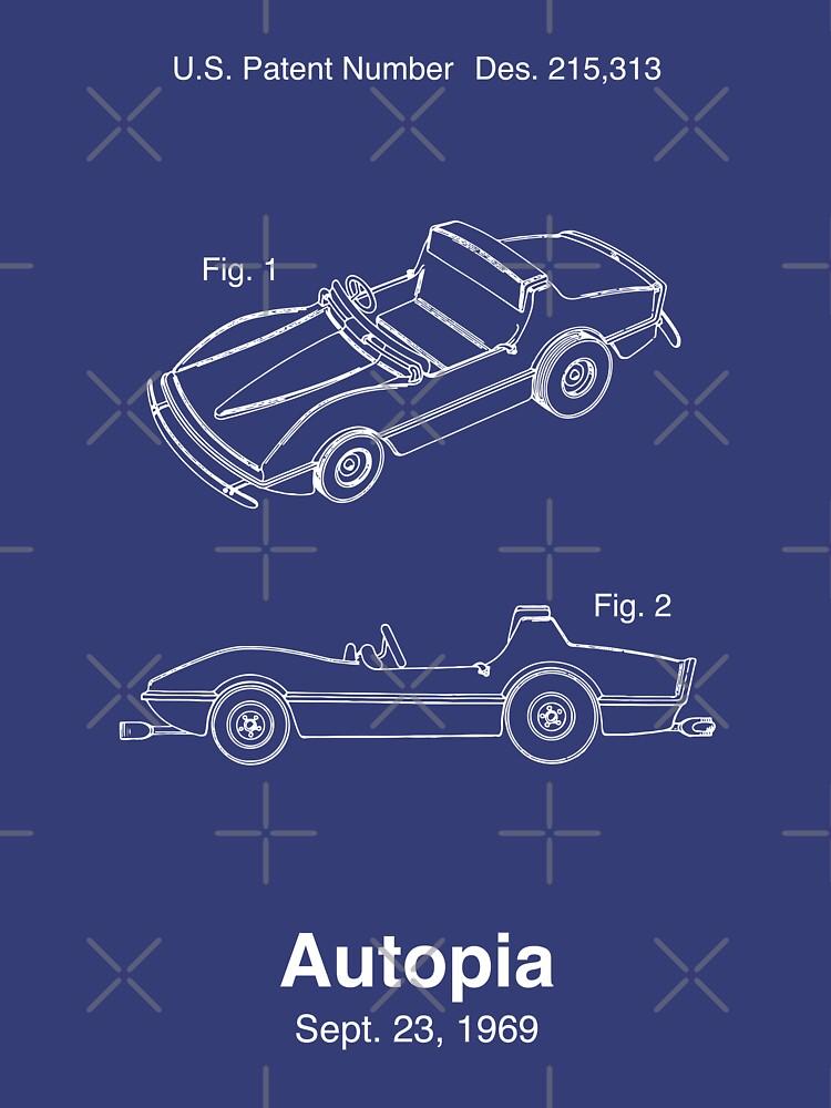 Autopia Autopatent von retrocot