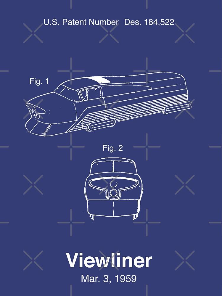 Viewliner Zug Patent von retrocot
