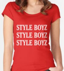 Style Boyz Women's Fitted Scoop T-Shirt
