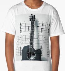 Strings and Bars Long T-Shirt