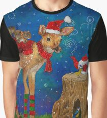 Christmas Tea Party Graphic T-Shirt