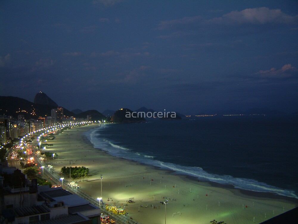 Copacabana By Night by acmoreira