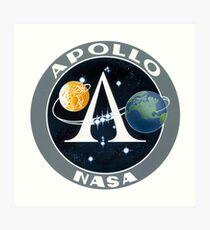 Apollo Program Logo Art Print
