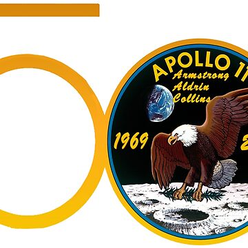 Apollo 11: 50th Anniversary Patch by Spacestuffplus