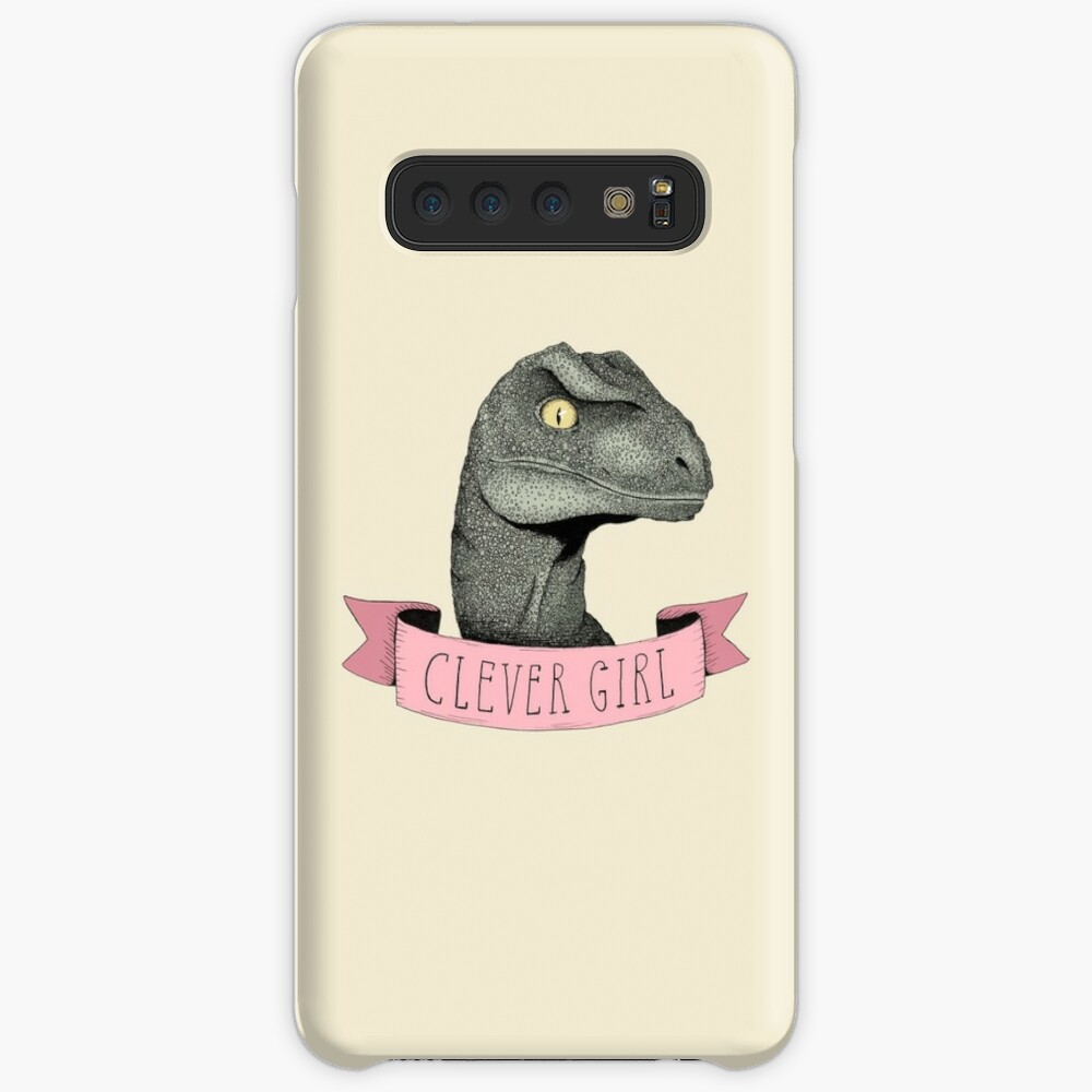 Clever Girl Case & Skin for Samsung Galaxy