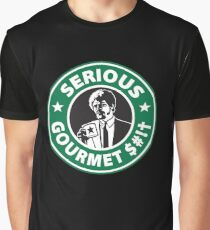 Some Serious Gourmet Coffee (clean) Graphic T-Shirt