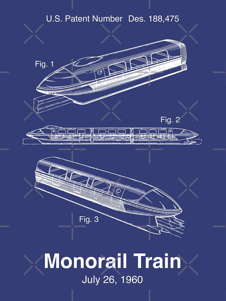 Einschienenbahn-Zug Patent von retrocot