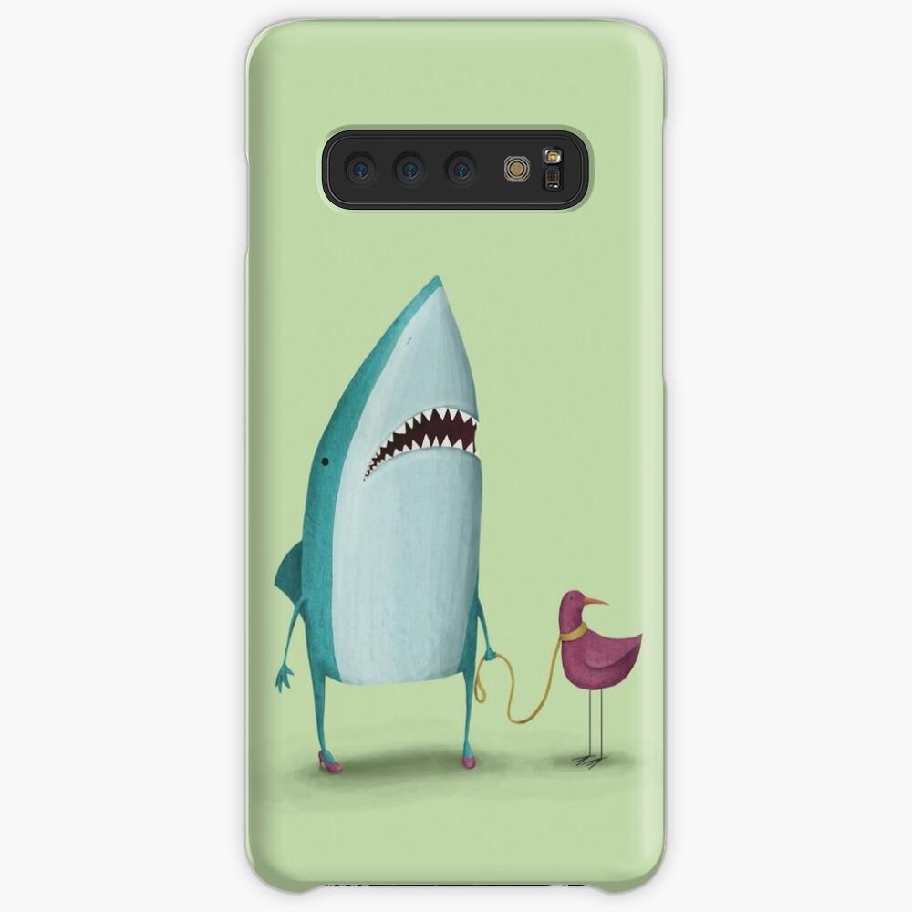 Shark and friend Case & Skin for Samsung Galaxy