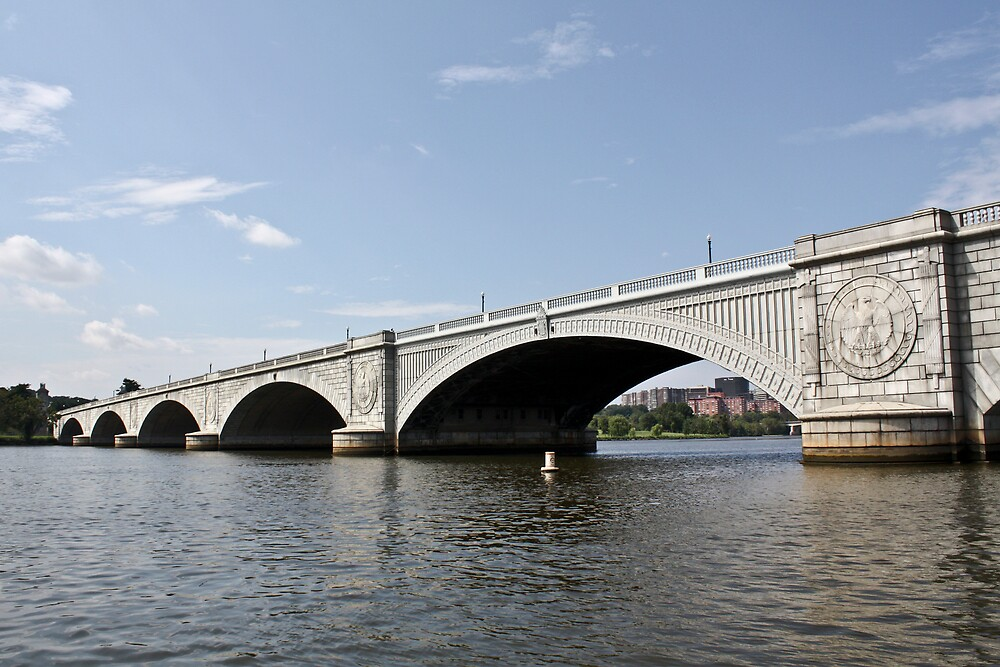 Arlington Memorial Bridge by Andrei Rusu