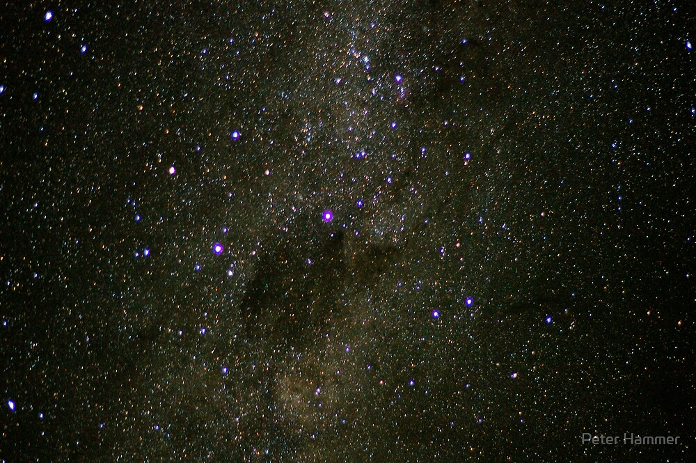 The Southern Cross and the Coalsack by Peter Hammer