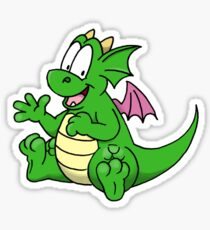 Sparky the Dragon Sticker