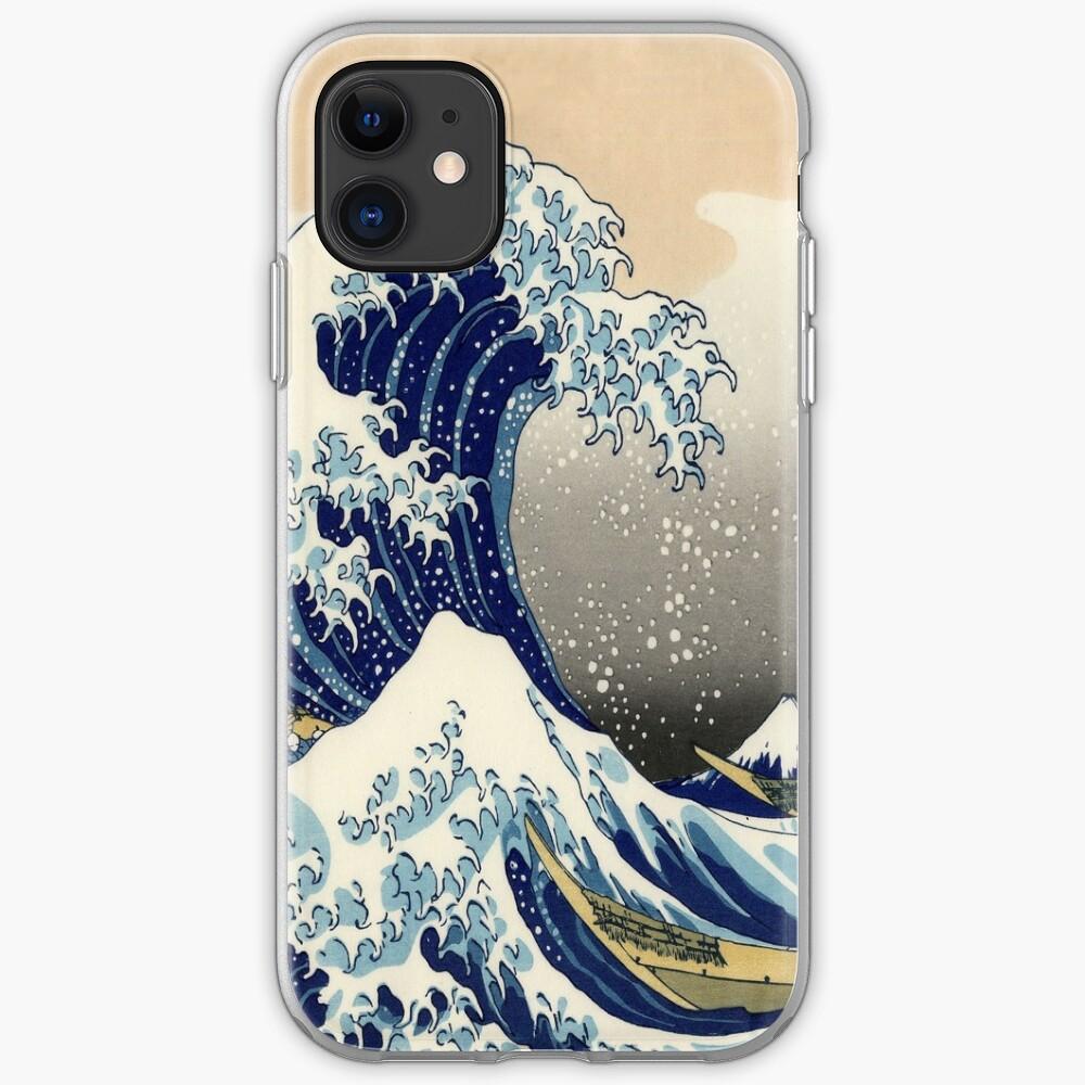 Gran ola Funda y vinilo para iPhone