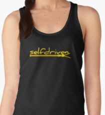 ZIPPER YELLOW Women's Tank Top