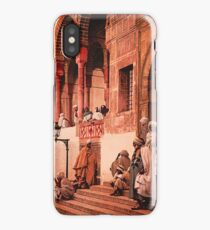 A vintage photograph of Indians iPhone Case/Skin