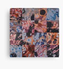 16 Flowing Squares Canvas Print