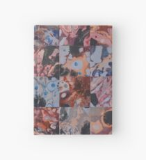 16 Flowing Squares Hardcover Journal