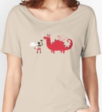 Dragon BBQ Women's Relaxed Fit T-Shirt
