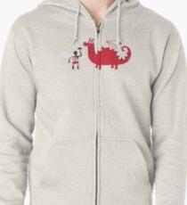 Dragon BBQ Zipped Hoodie