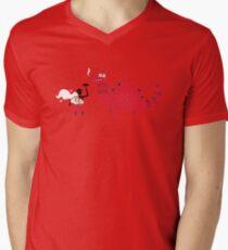 Dragon BBQ Men's V-Neck T-Shirt